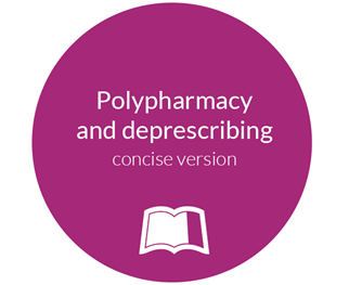 Polypharmacy and deprescribing concise version