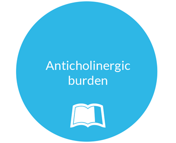 Anticholinergic burden